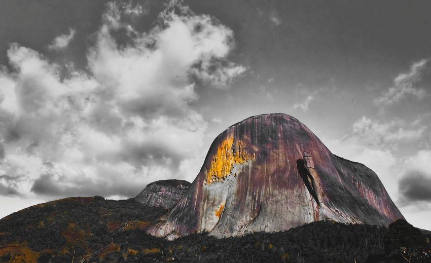 Pedra do Lagarto EyeEm Selects PedraAzul Lava Mountain Rock - Object Volcano Sky Landscape Cloud - Sky