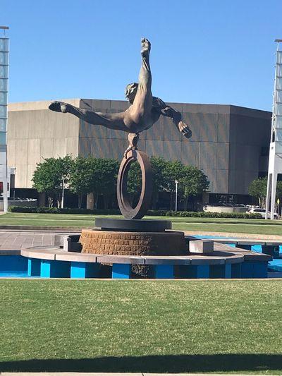Atlanta Ga Art And Craft Sculpture Sky Nature Architecture Representation Day