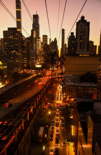 Roosevelt Island cable car, NYC. Photographed by Cooper Billington. Cable Car City Life Colors NYC Lifestyles Motion People Photo Photography Sunset Transportation Yellow Paint The Town Yellow