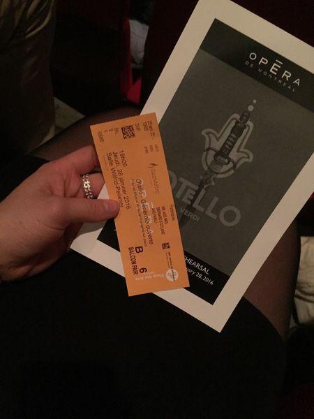 Yesterday Otello