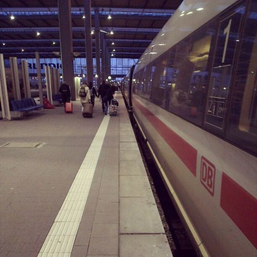 Ciao Muc. :) Bis demnächst iwann. :) Hier: ICE 512 nach Münster (Westf) via Mannheim