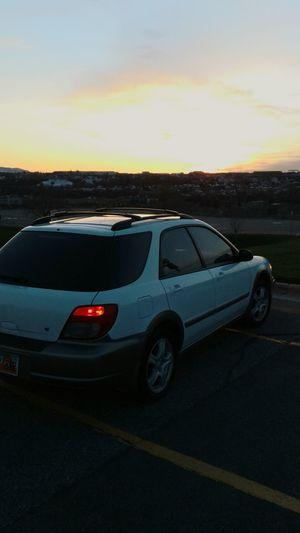 Subaru at dusk