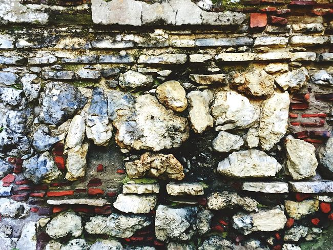 Texture Brick Stone Wall Church Architectural Detail History Colour Coral Stone PaoayChurch