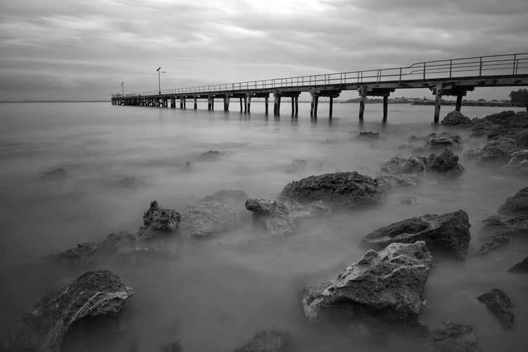 A pier in Robe,