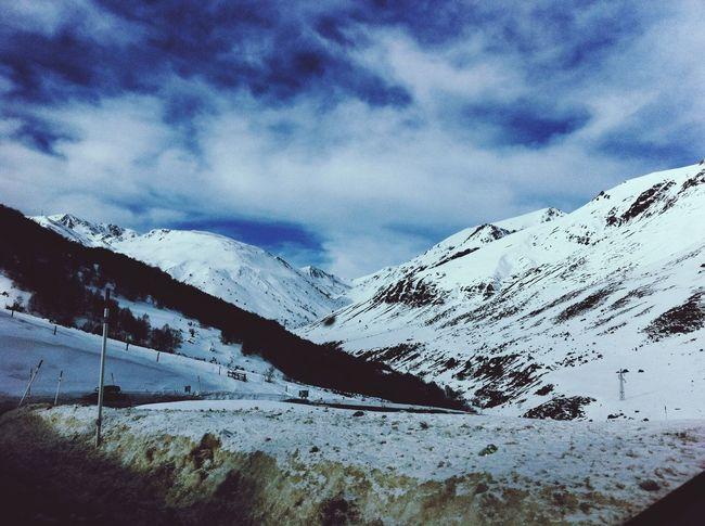 belle et tendre neige.