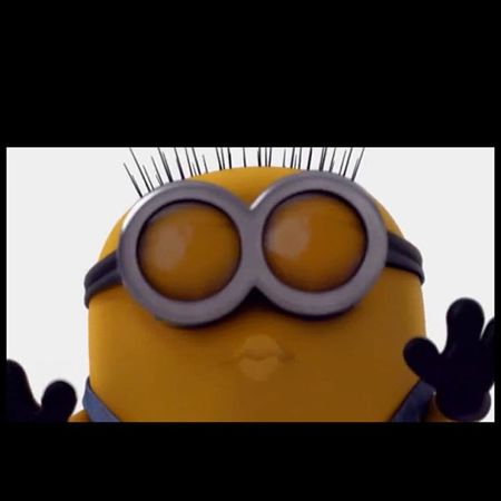 A goodnight kiss from Jerry Minion  ! Have a great Sunday everyday! Despicableme2