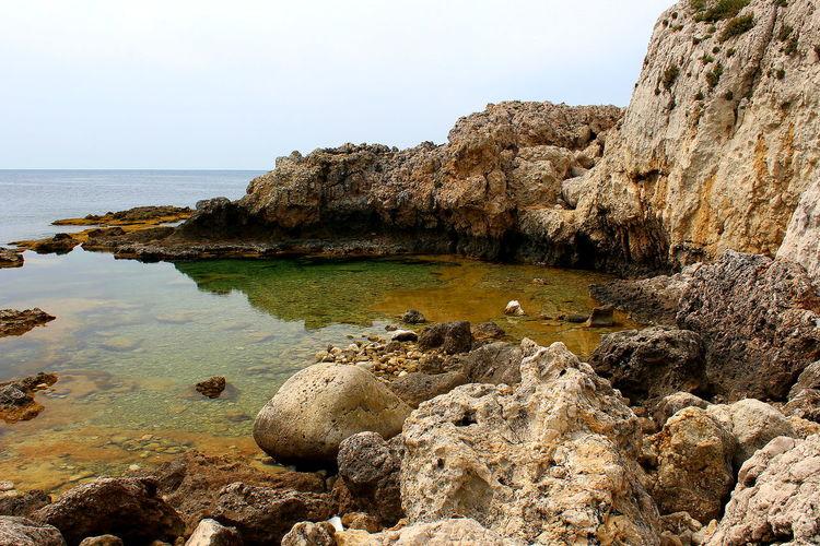 Acqua Beauty In Nature Capo Milazzo Cielo E Nuvole Laghetti Milazzo Nature No People Outdoors Piscine Di Venere Riflessi Rocce Sea Sky And Clouds Tranquillità Water