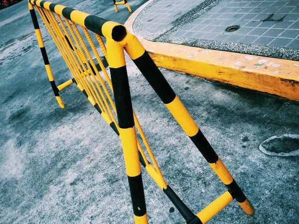 On The Road Pattern Pieces Road Signs Pedestrian Traffic Black And Yellow  Road Sign Road Marking Roadmarkings Barricade Colors Showcase: February