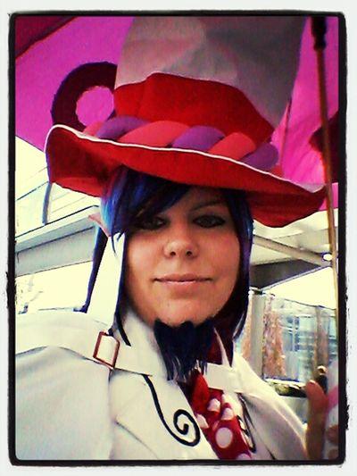 Auf der Leipziger Buchmesse 2013 Ich cosplayte dort Mephisto Pheles aus Ao No Exorcist Cosplay
