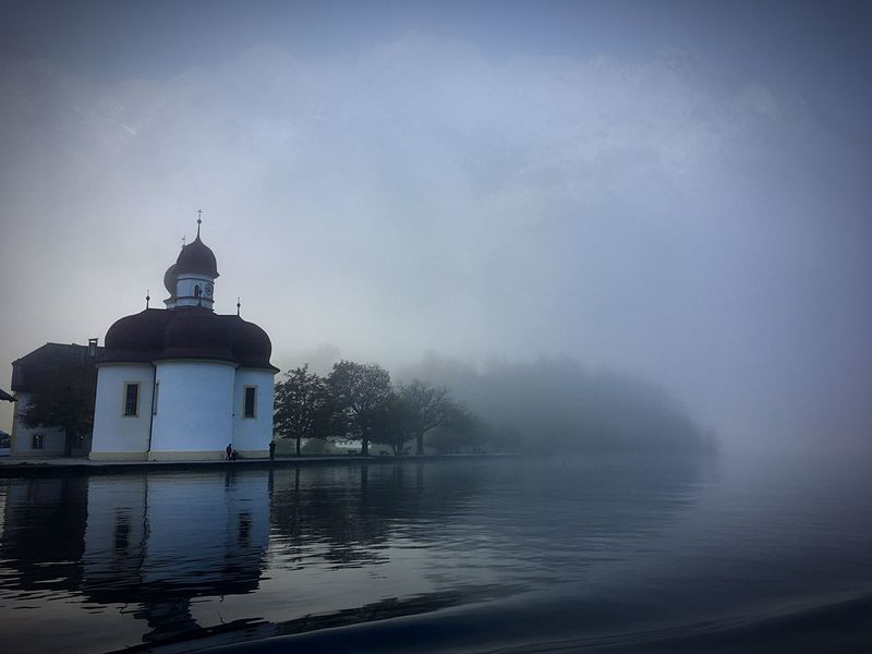 St Bartholomä Königssee Fog Foggy Morning Foggy Weather Fog On The Lake Fog On The Water Bavaria Bavarian Landscape Lost In The Landscape