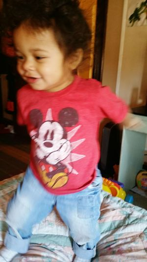 My Mini Me <3 Handsome Playful Happy :) Smile :) Cutest Kids! Hair Happiest Baby Cutest Kid In The World!