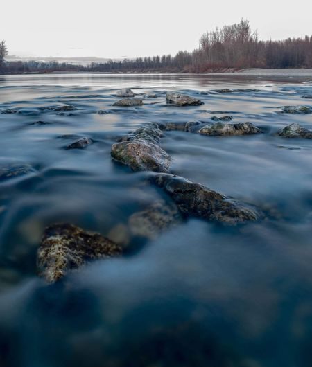 Rocks in the clear water. Long Exposure Nature Photography Nature Croatia Forest River Water Sky Landscape Stream