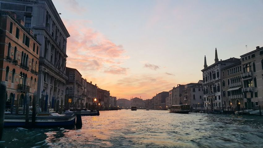 Sunset Reflection Water Architecture Italian Landscapes Capture The Moment Travelgram Italygram Travel Italy🇮🇹 2017 Relaxing Moments Venezia Venice Venice Canals Venezia Italia 2017 Eyeem Awards Winter Time Venice, Italy Voyage Calm And Quiet Tourism Travel Destinations Outdoors City