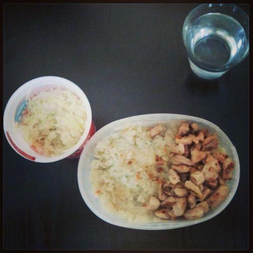 Ručak Belo Meso Riza kupus
