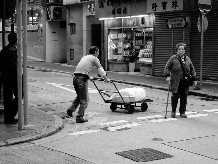 Old city, Old people Jordan Hong Kong Hong Kong Full Length Men Architecture Standing Adult Built Structure Building Exterior Real People Outdoors People Day City Working