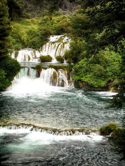 ARTsbyXD Beauty In Nature Blurred Motion Croatia Environment Flowing Flowing Water Forest HDR Idyllic Krka National Park Motion Natural Landmark Nature Power In Nature Purity Rock - Object Scenics Splashing Stream The Eyeem Collection At Getty Images Tranquility Water Waterfall Xd_arts