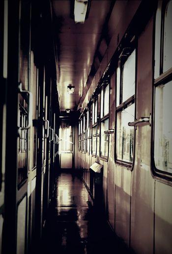 Train.. Train Blackandwhite Vintage Viaggio