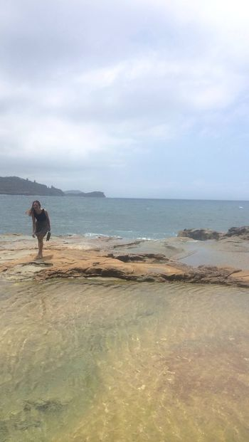 Beach Day Horizon Over Water Nature Outdoors Scenics Sea Water
