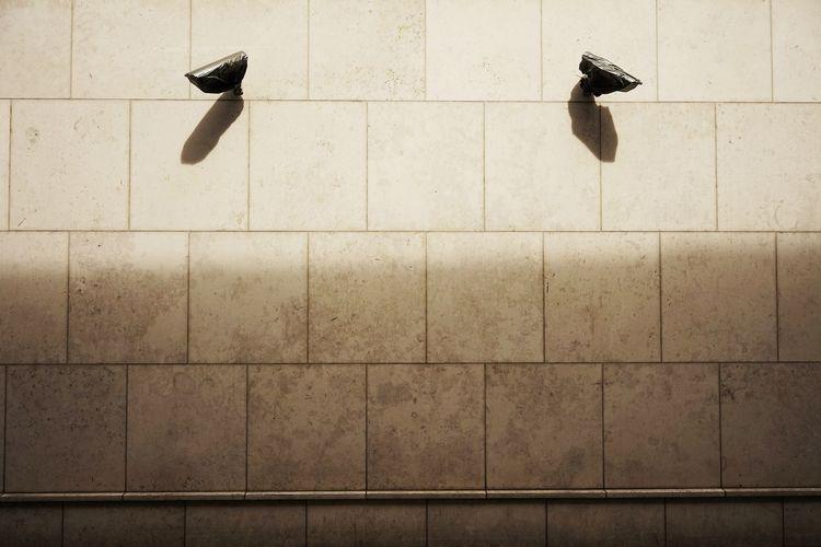 Cctv Cameras On Wall