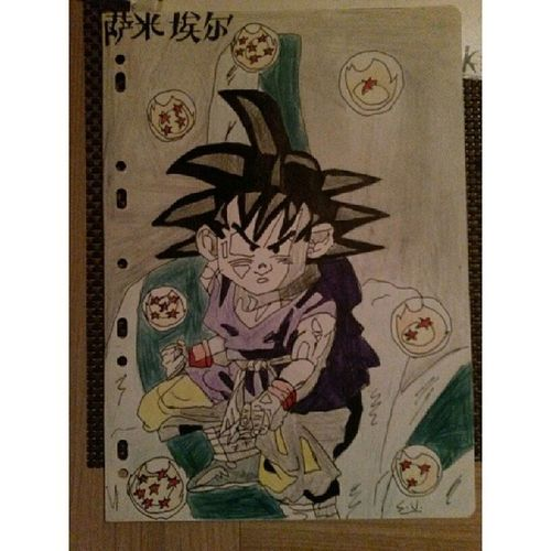 Goku all dbz's draws are realized when i was 14. Draw Drawing Drawingwork DBZ dbz_onepiece dbz_elite_ dbzdrawing dragonball dragonballz dragonballs goku saiyan sangoku bejita vegeta supersaiyajin pencilcolors otaku dessin dessins tagsforlikes instadraw instalike follow forfollow follow4follow