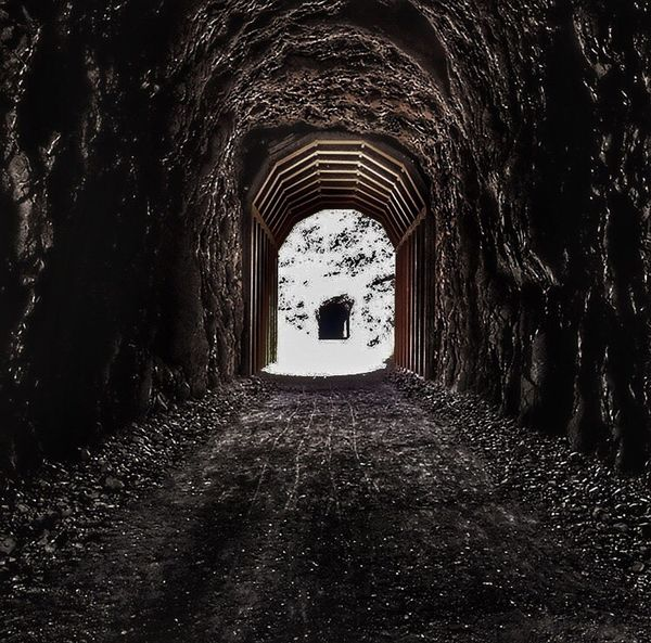 Railroad Tunnel Historic Site Hoover Dam Hikes Hike Nevada Perspective