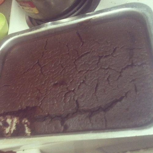 A Christmas Cake. TookAnEonToMake Bachelorlife