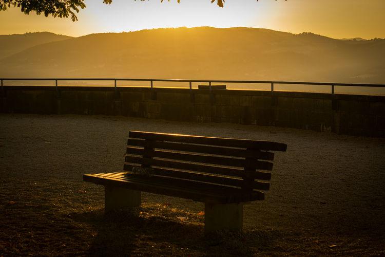 Sunset in Todi