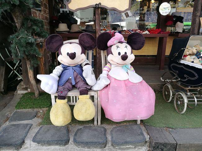 #Mouse #miki #Mini #Korean #korea Photo #photography #photo #2018 #Disney Store Retail  Outdoors Day No People