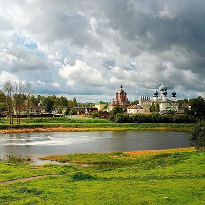 Russia Tihvin Summer Cloudy day