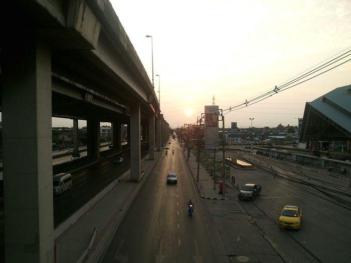 beautiful Bangkok . Beautiful Day Beautiful Sky Sky Bangkok Thailand. Sunset