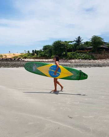 Surfing the brazilian life Beach Sand Surf Vacations Sunlight Travel Destinations Bresil  Brazil Brasil Jericoacoara