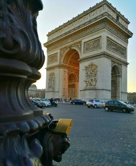 Architecture Built Structure Tourism Arc De Triomphe, Paris Transportation Eye4photography  HuaweiP9