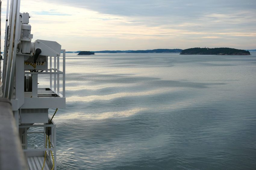 At The Sea At The Sea <3 On The Boat Archipelago Finland Summer Midsummer Archipelagos Summer2016 Sky And Sea Wawes Sea And Sky Sea View