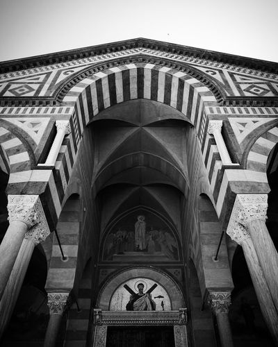 Duomo di Amalfi Amalfi Coast Duomo Di Amalfi Amalfi  Arch Architectural Column Architecture Architecture And Art Arquitectura Art And Craft Belief Building Building Exterior Built Structure City Clock Day History Low Angle View Nature No People Outdoors Religion Sky The Past Travel Destinations