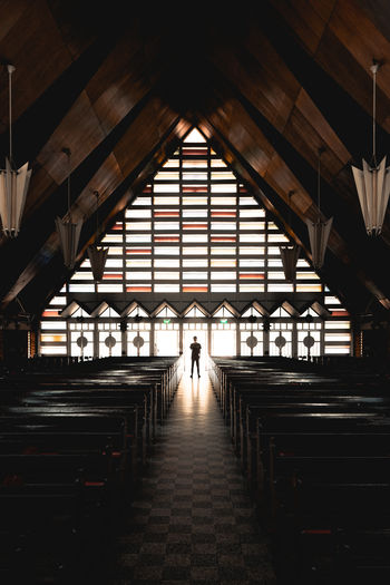 Silhouette at church EyeEmNewHere Dark Architectural Feature Architecture_collection Architectural Column Architecture Silhouette Architecture One Person Built Structure Day Indoors  Standing Full Length Travel Travel Destinations Unrecognizable Person The Traveler - 2018 EyeEm Awards The Architect - 2018 EyeEm Awards The Creative - 2018 EyeEm Awards EyeEmNewHere