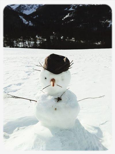 Selfie glacé !-{p> Bonjour de... Winter White By CanvasPop