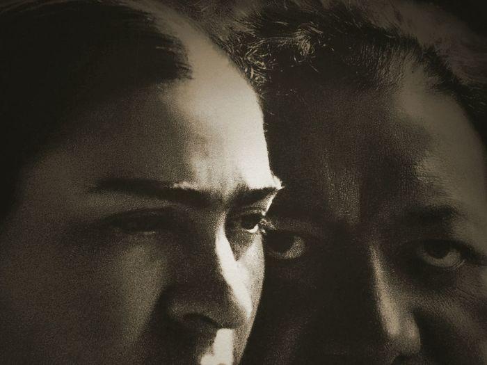 B&w Photography MNG EyeEm Selects Frida Kahlo Frida Calo Young Women Human Eye Portrait Halloween Human Face Shadow Spooky Women Horror Dark Witch