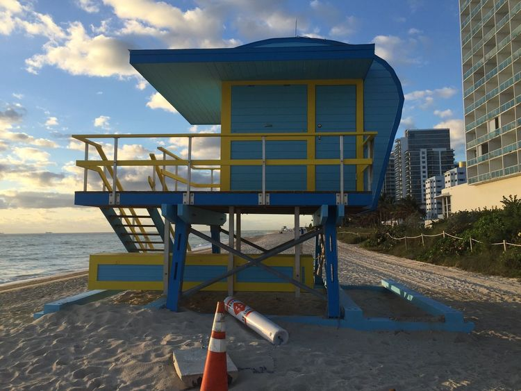 Lifeguard Collection Miami Beach Miami Beach Lifeguard Collection Miami Colors Collection Lifeguard Station Lifeguard Tower