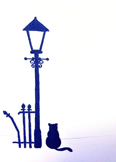 Cat Fence Lamppost Check This Out Interesting Taking Photos Interesting Perspectives Hello World Fueling The Imagination Imagine