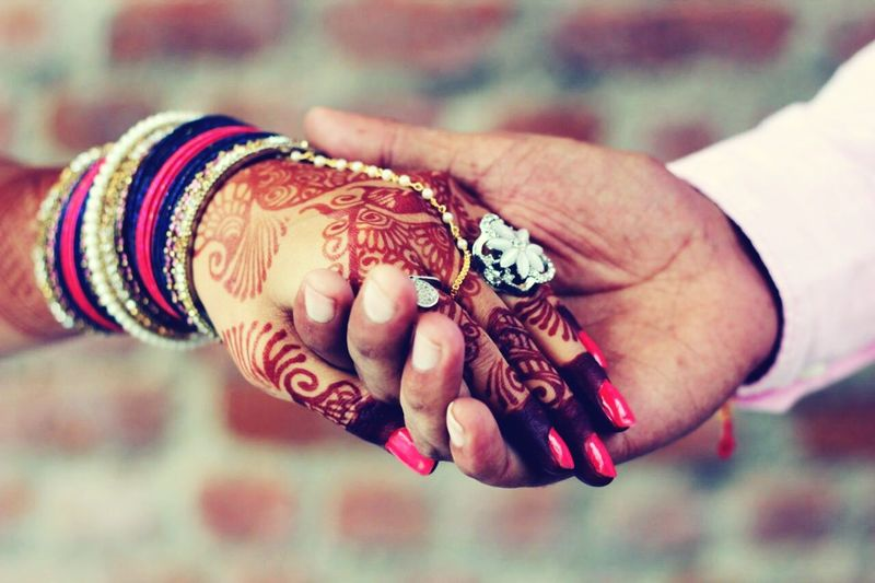 Coming together Wedding Promise Forever <3 Together Forever Indian Culture  Holding