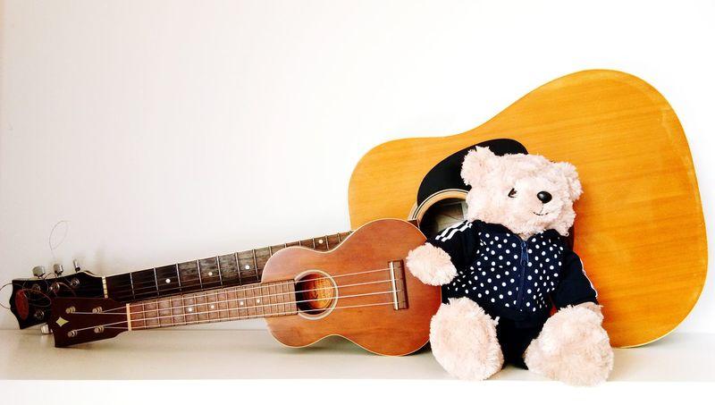 Ukelele String Instrument Music Style  Doll
