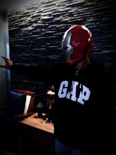 I am iron man Cosplayer Costume Cosplayart Cosplaymania14 Eyeem Philippines Light And Shadow