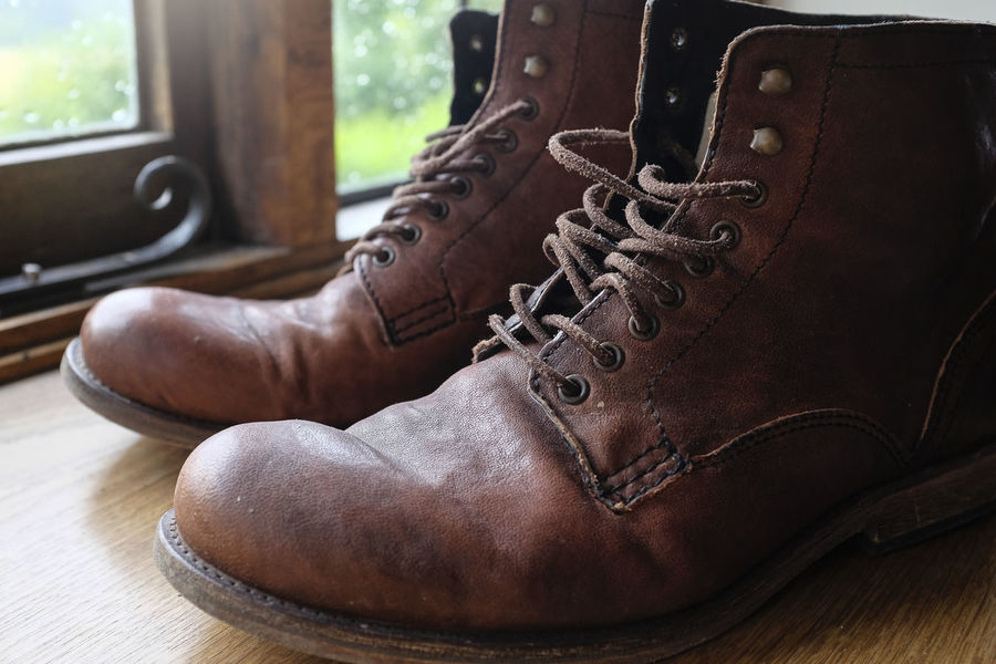 Well worn boots Boots Brown Boots Footwear Men's Boots Men's Fashion Men's Footwear Men's Shoes Old Boots Preloved Preloved Boots Shoes Vintage Boots Worn Boots