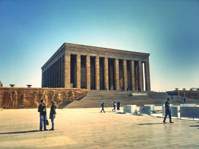 Tomb Temple Anıtkabir Taking Photos Taking Photos Building First Eyeem Photo Streetphotography Sky