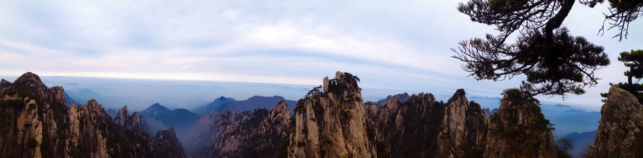 China Huangshan Yellowmountains Tb Throwback Beautiful Nature