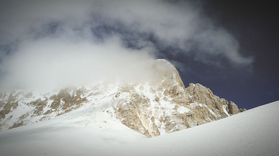 Mountain Abruzzo Parconazionaledabruzzo Alpinism Gran Sasso Winter Relaxing Nature Skialp Go Higher