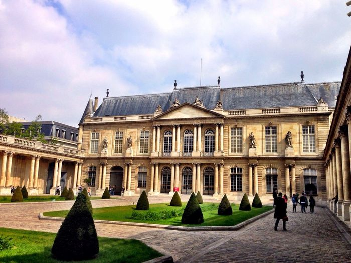 Courtyard of Archives Nationales