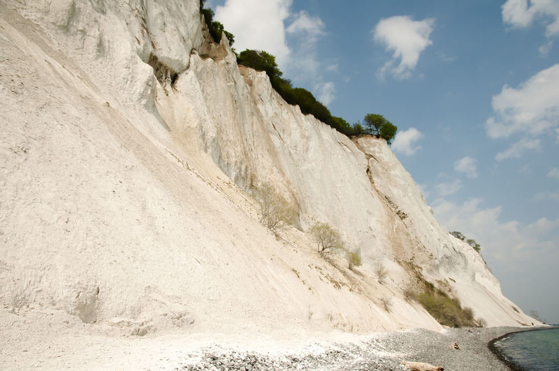 Mons Klint - Denmark Denmark Chalk Cliff Møns Klint Nature Rock - Object