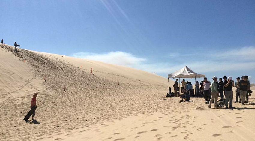 Sandboarding Australia Dessert Tourism