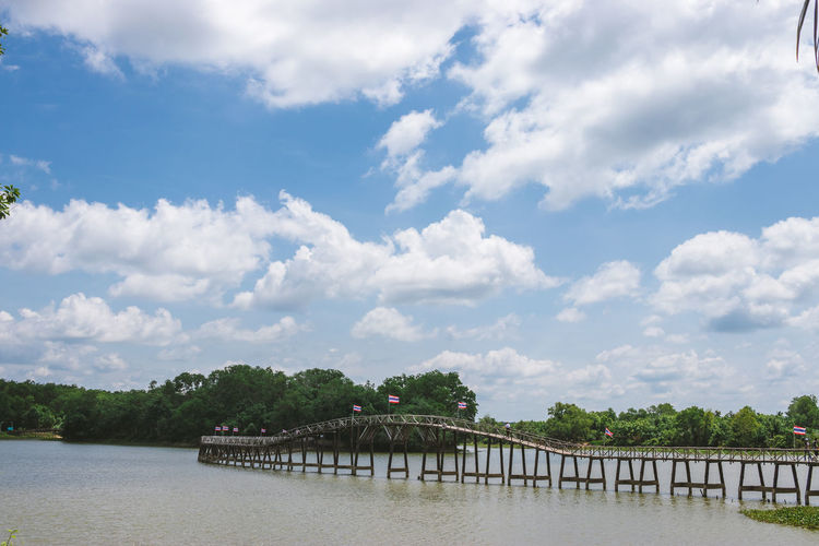Cloud - Sky Sky Built Structure Architecture Water Nature Day No People Outdoors